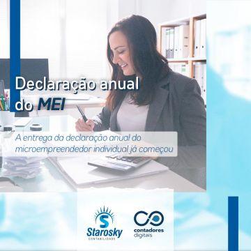 Entrega da Declaração Anual do microempreendedor individual (MEI) já começou