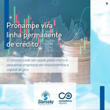 Pronampe: linha de crédito para micro e pequenas empresas será permanente